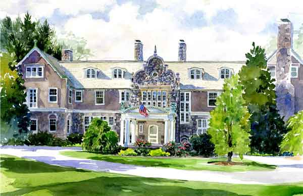 Blithewold bristol ri for Blithewold mansion gardens arboretum